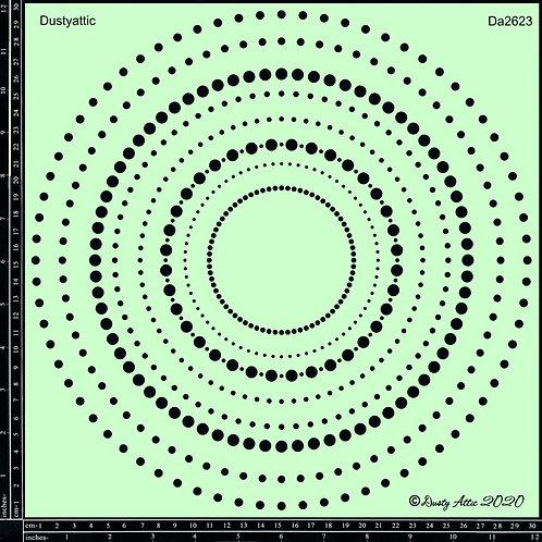 Circle Dot Stencil