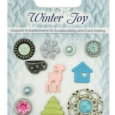 Winter Joy brads