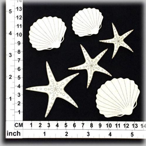 Scrapmatts - Shells cb6062