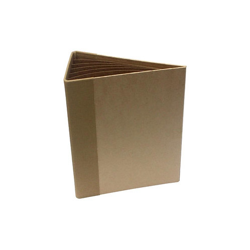 "Kraft 3D Flip Fold Album 7""X9"""