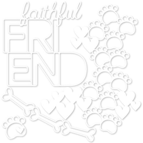 Bella Blvd Cut-Outs - Faithful Friend