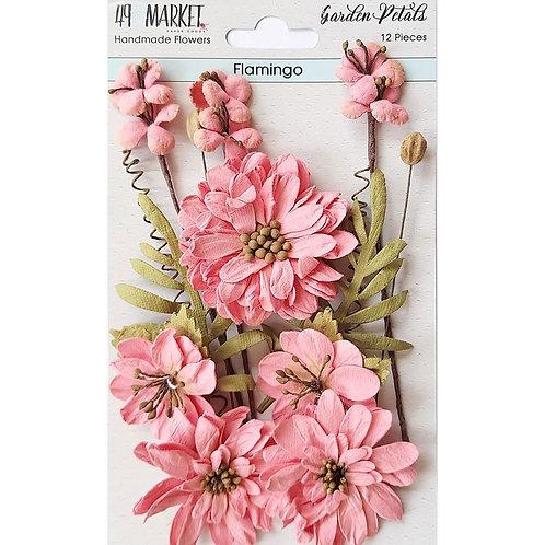 Enchanted Petals -Flamingo