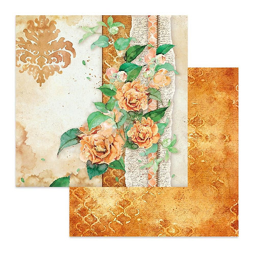 Flowers For You On Ochre Background