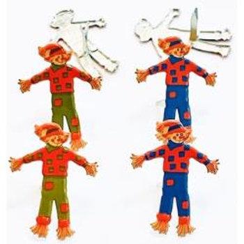 Halloween - Brads - Scarecrow