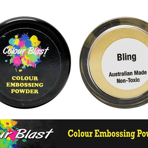 Bling embossing powder