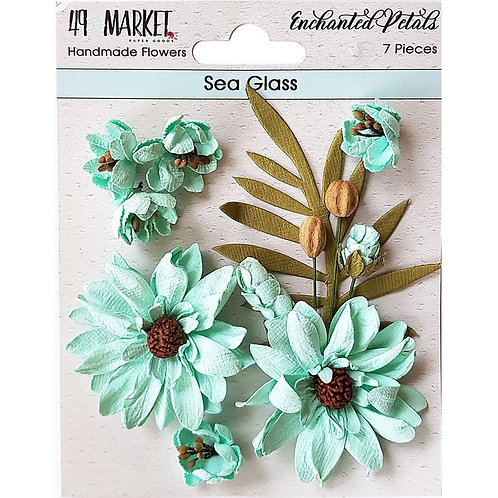 Enchanted Petals - Sea Glass