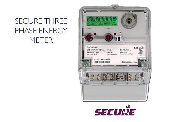 THREE PHASE ENERGY METER - SECURE