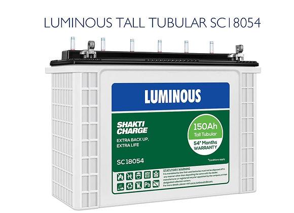 LUMINOUS TUBULAR BATTERY 150AH SC18054
