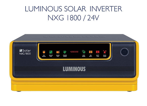 LUMINOUS NXG1800 SOLAR INVERTER - 24V