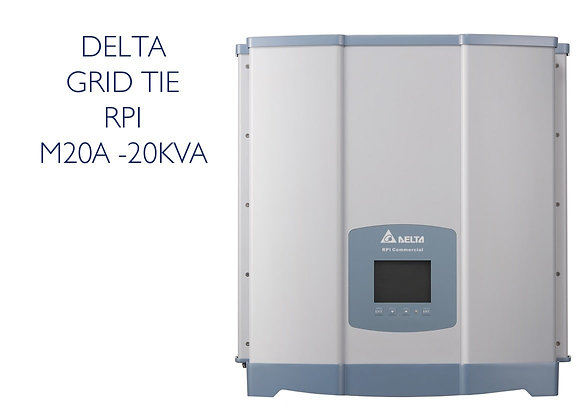DELTA 20KW GRID TIE INVERTER - THREE Phase
