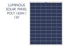 Luminous 165W poly panel