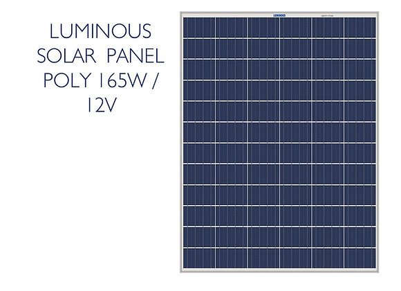 LUMINOUS POLY SOLAR PANEL - 165W