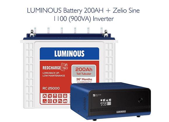 ZELIO SINE 1100 with 200AH RC 25000 BATTERY