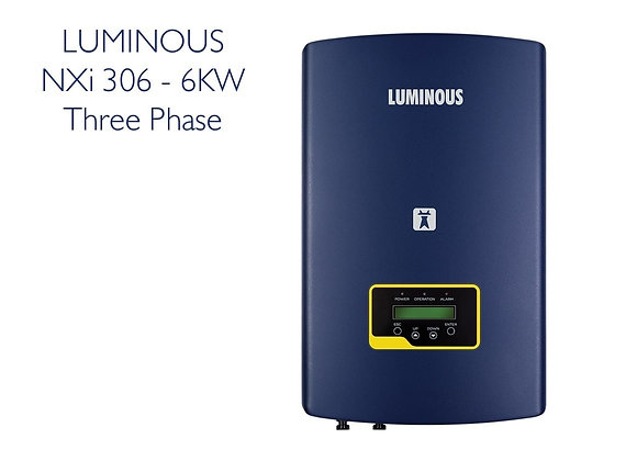 LUMINOUS GTI 6KW GRID TIE INVERTER - 3 PHASE