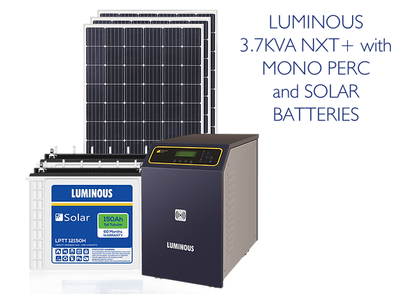 LUMINOUS OFF-GRID COMBO NXT 3.7KVA/48V