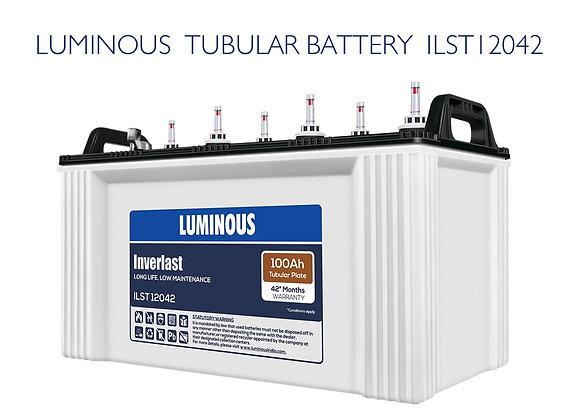 LUMINOUS TUBULAR BATTERY 100AH ILST12042