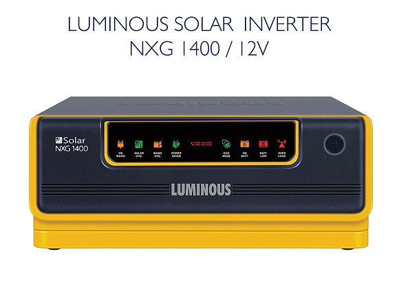 LUMINOUS NXG1400 SOLAR INVERTER - 12V