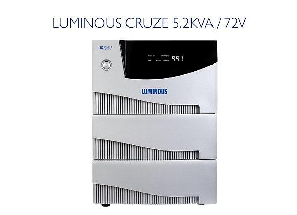 LUMINOUS CRUZE 5.2KVA /72V
