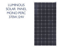 Luminous 370W MONO PERC panel