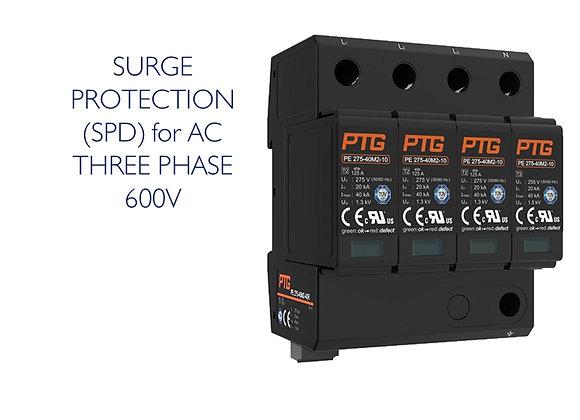 SURGE PROTECTION (SPD) AC 3 PHASE 600V (PTG)