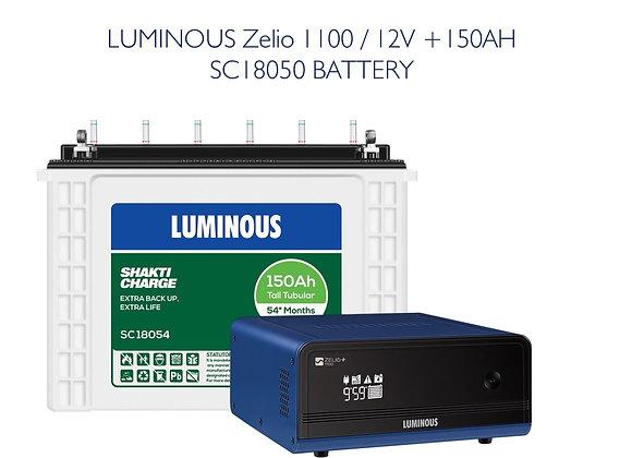 Zelio 1100 with 150AH SC18054 BATTERY