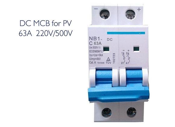 DC MCB 40A 2 POLE