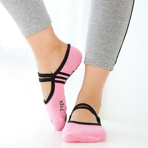 Yoga Pilates, Ballet, Dance, Cycling Socks Anti Slip Fit