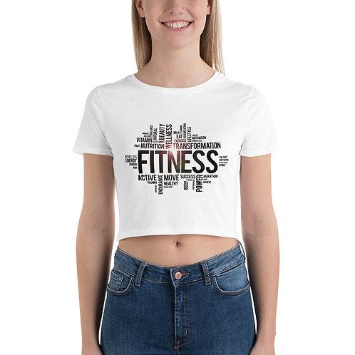 Women's Fitness Crop Tee