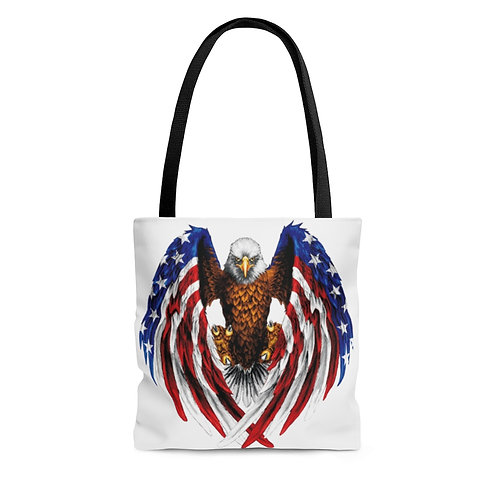 Flying Strong American Tote Bag
