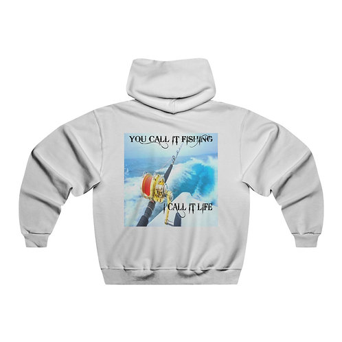 FISHING IS LIFE....Hooded Sweatshirt
