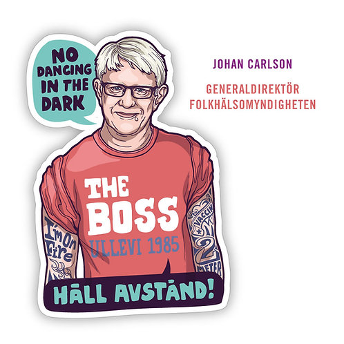 Motivation Sticker - Johan Carlson