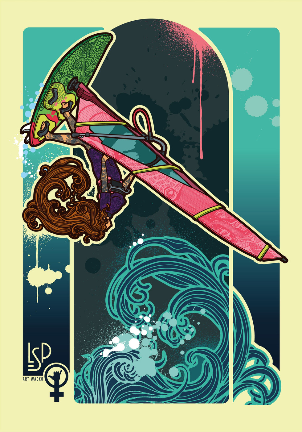 Art Deco - Wave rider