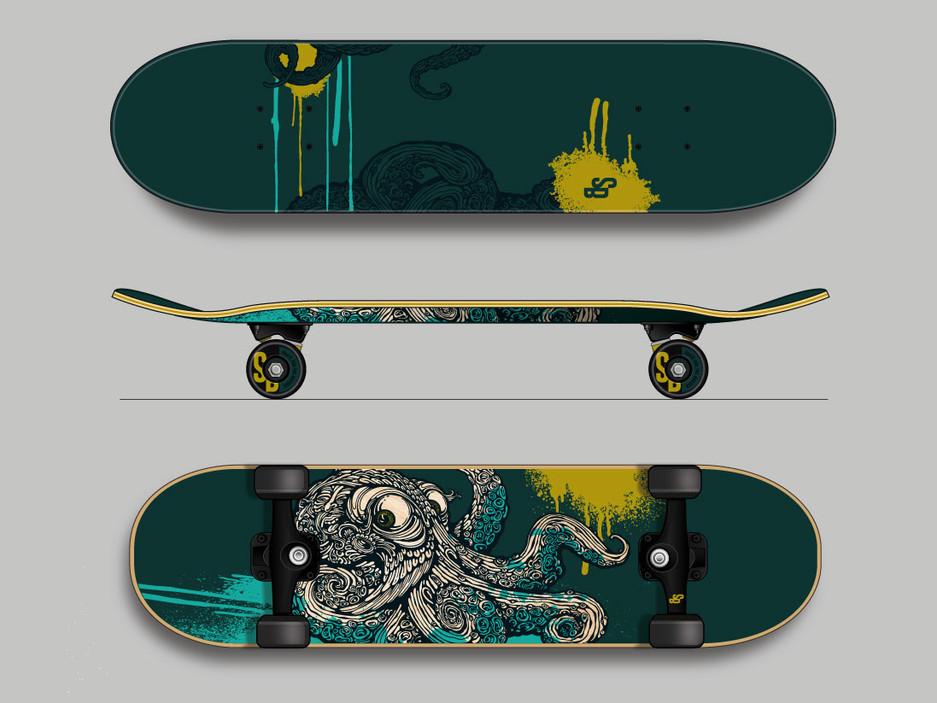 SUNBOW Skateboard concept
