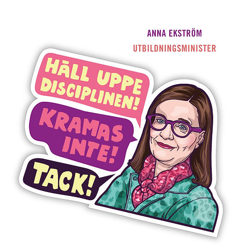 Motivation Sticker - Anna Ekström