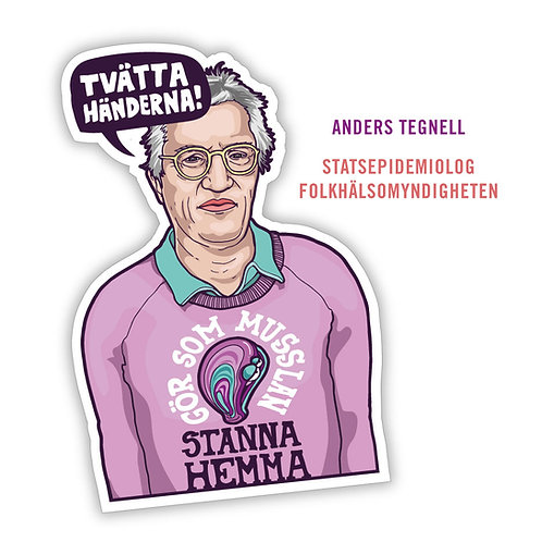 Motivation Sticker - Anders Tegnell