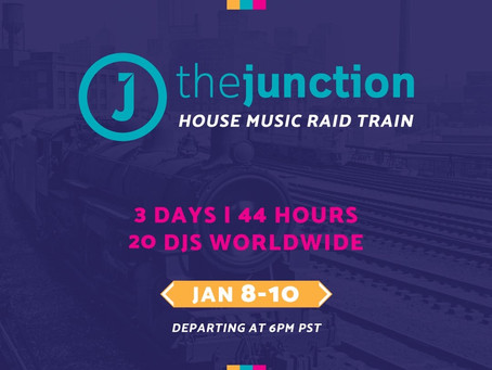 STYLIN' OUT DJS IN THE HOUSE FOR THE JUNCTION RAID TRAIN!