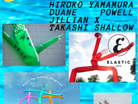 ST(ART UP) WITH HIROKO YAMAMURA, DUANE POWELL, JILLIAN X AND TAKASHI SHALLOW