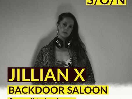 JILLIAN X // SUPES BASE @ BACKDOOR SALOON