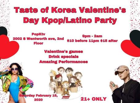 DJVIRGIL7 KPOP VALENTINES PARTY