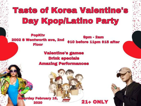 DJVIRGIL7 KPOP VALENTINES PARTY