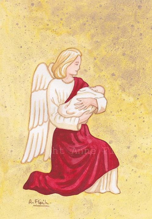 Ange et bébé A5