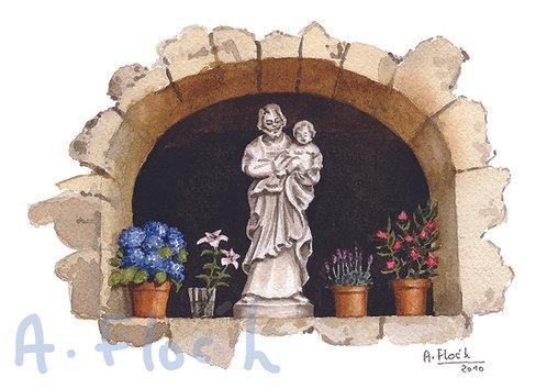Carte postale Oratoire Saint Joseph