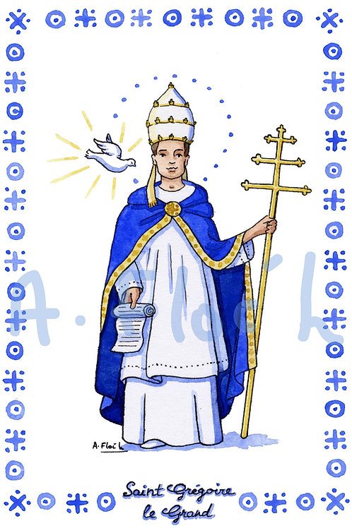 Saint Patron en G et H (A5)
