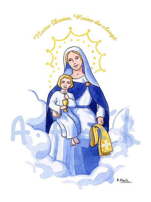 Notre Dame, Reine du Clergé (ordination) A5