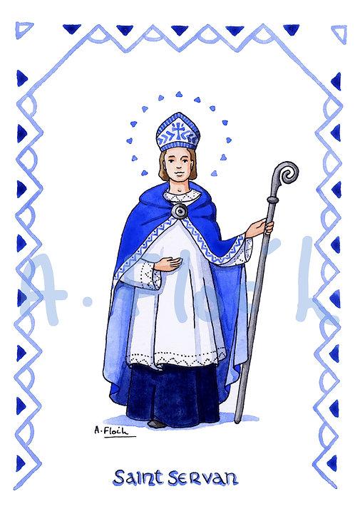 Saint Patron en S et T (A5)
