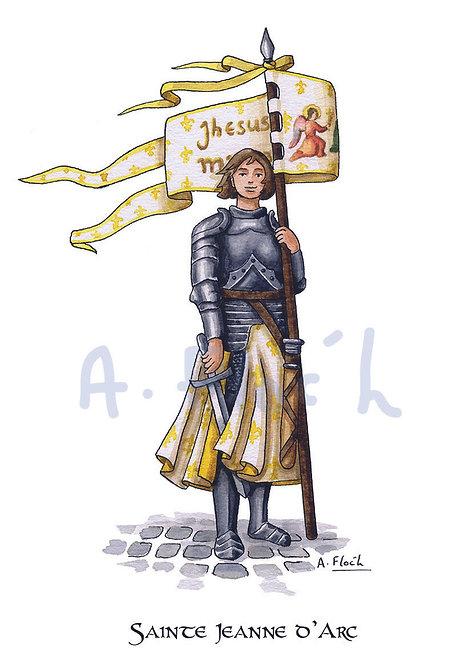 Carte postale Sainte Jeanne d'Arc