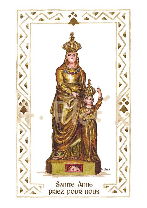 Sainte Anne A4 (différentes représentations)