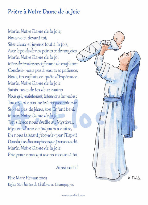 Prière ND de Joie A5