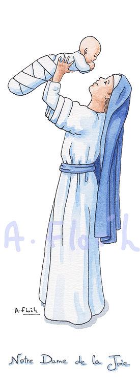 Signet ND de la Joie avec prière au dos (V008)