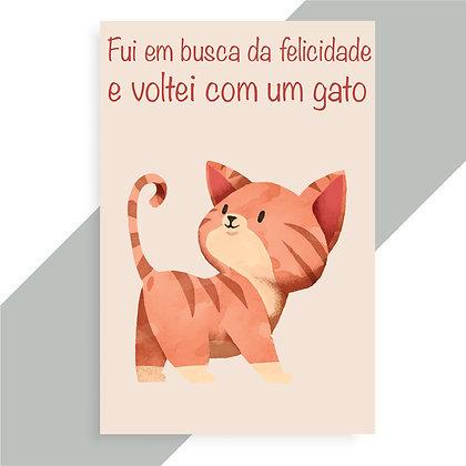 IMÃ_GATO LARANJA